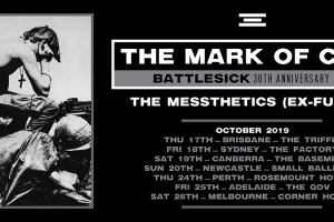 THE MARK OF CAIN 'BATTLESICK' 30TH ANNIVERSARY TOUR With Guests THE MESSTHETICS (Ex-Fugazi)