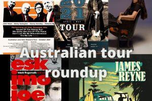 AUSTRALIAN TOUR NEWS ROUNDUP – THE ANIMALS, ANDREW FARRISS, ESKIMO JOE, JAMES REYNE, AMY SHARK