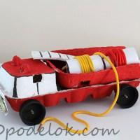 Поделка Пожарная машина
