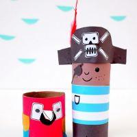 Пират из бумаги