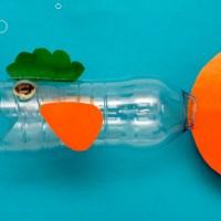 Рыбка из пластиковой бутылки