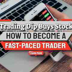 """Image text: """"Trading Drip Buys Stock""""."""