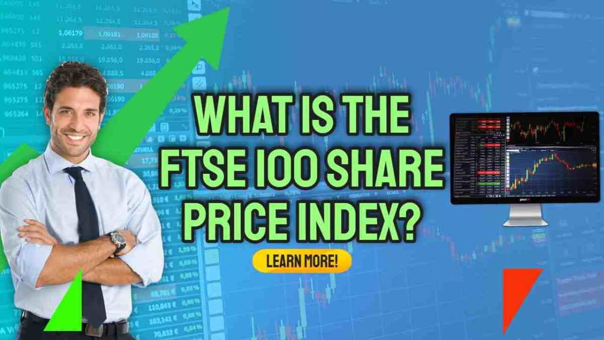 """Image text: """"What is the FTSE 100 Share index""""."""