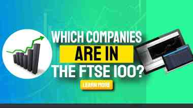 """Image text: """"Which companies are in the FTSE Top 100 UK""""."""