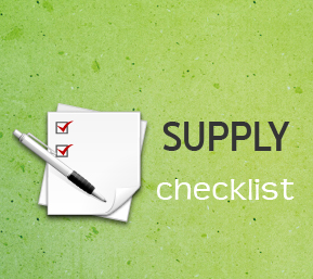 Office Supply Tip and Free Printable Checklist Template   100 Simple     basic office supplies checklist
