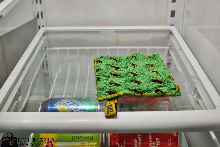 Cleaning the fridge
