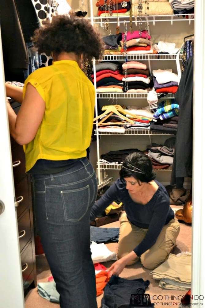 Closet and style makeover - the value of professional stylists