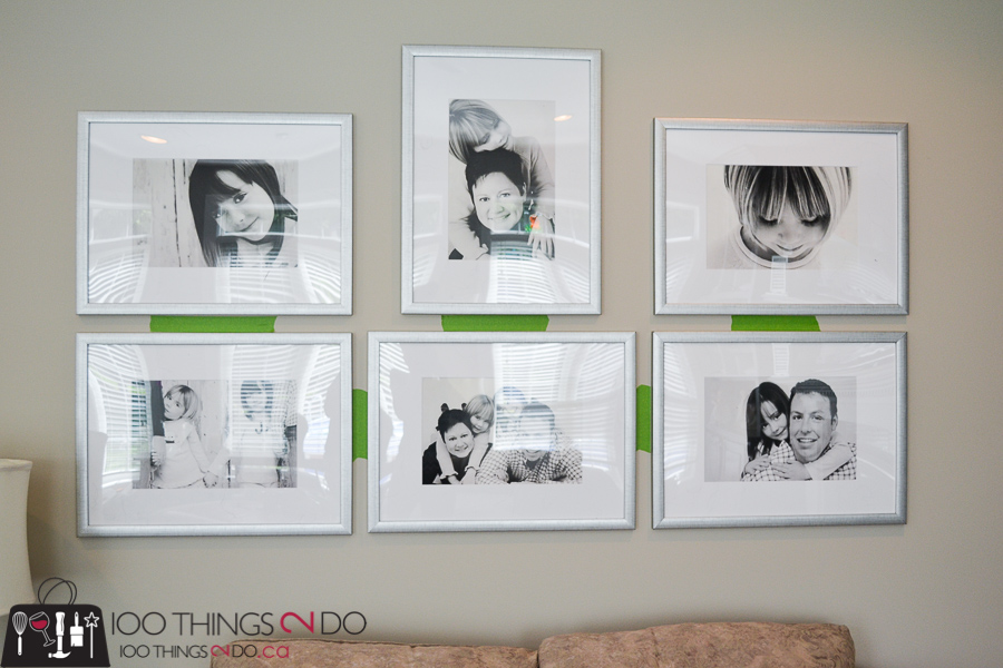How to hang a picture, the best way to hang pictures, hanging pictures, hanging a gallery wall, how to hang a gallery wall