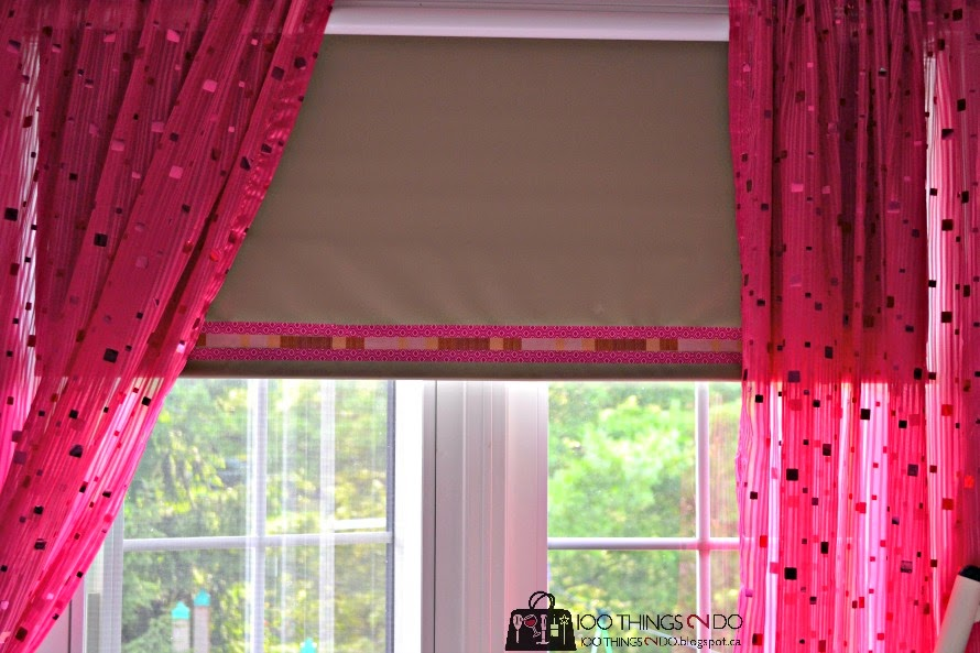 Scotch Expressions tape (Washi tape) blinds