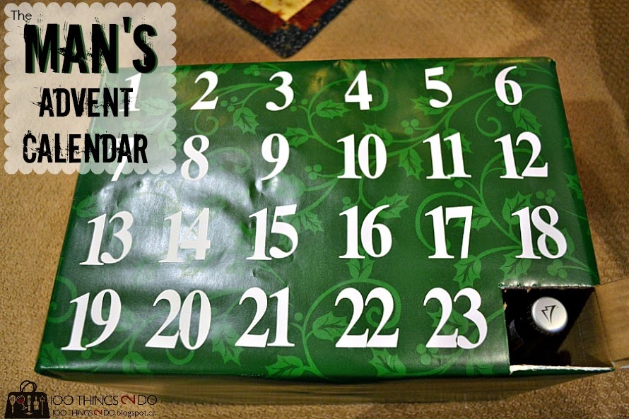 Gift idea: create an advent calendar for the man in your life Gag gift, man's advent calendar, adult advent calendar, beer calendar, Man advent calendar, advent calendar
