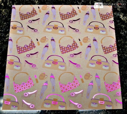 Create your own gift bags from scrapbook paper