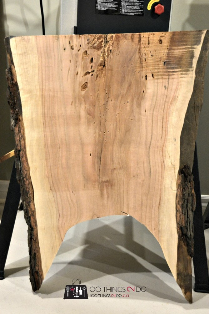 slab of wood