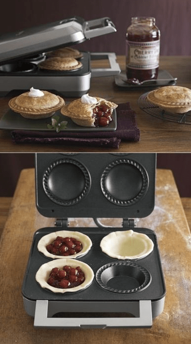 Breville Personal Pie Maker / Williams-Sonoma,  kitchen gadget, kitchen gadgets