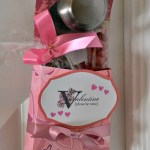 Valentine door hanger with treats inside
