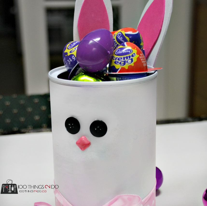 Easter bunny container