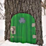 Create your own leprechaun door!