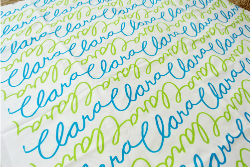 Spoonflower - duvet cover