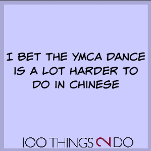 Too Funny: YMCA in Chinese