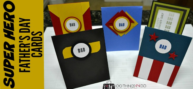 Father's Day cards - Super hero