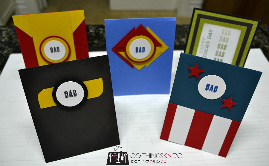 Superhero Father's Day cards - Super heroes, Avengers