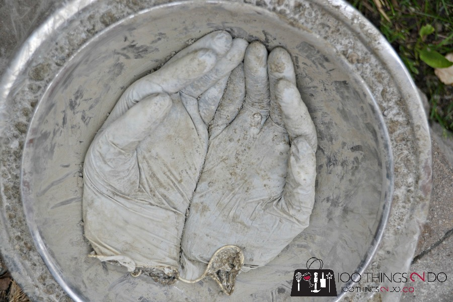 Concrete hand planter, nailed it, when project fails are too funny not to share, project fails, working with concrete