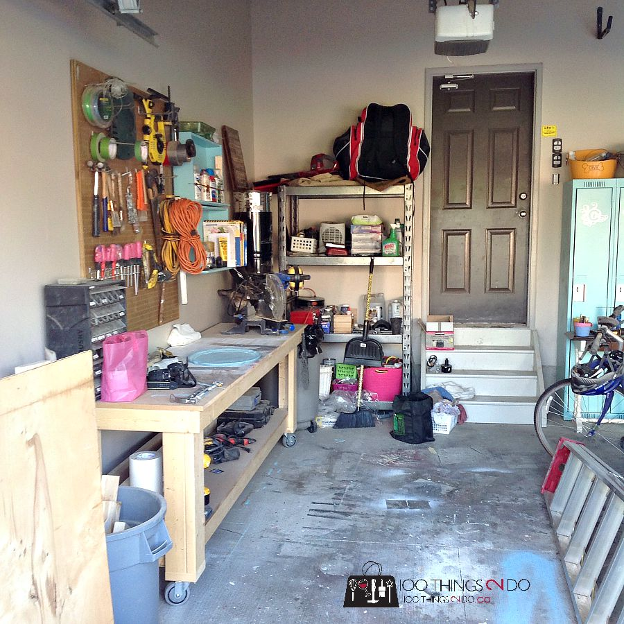 Garage makeover - walls 9