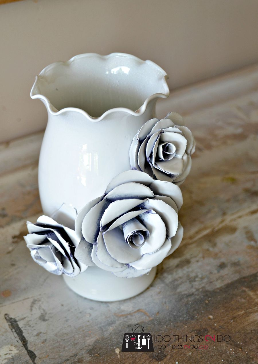 How To Make A Decorative Flower Vase