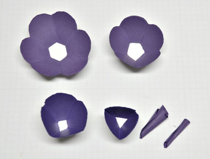 Paper flowers - 4