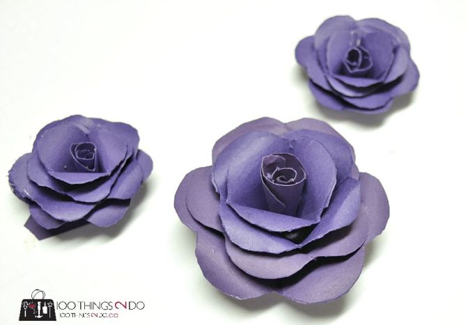 Paper flowers - 8