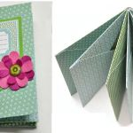 How to make an envelope scrapbook - brag book
