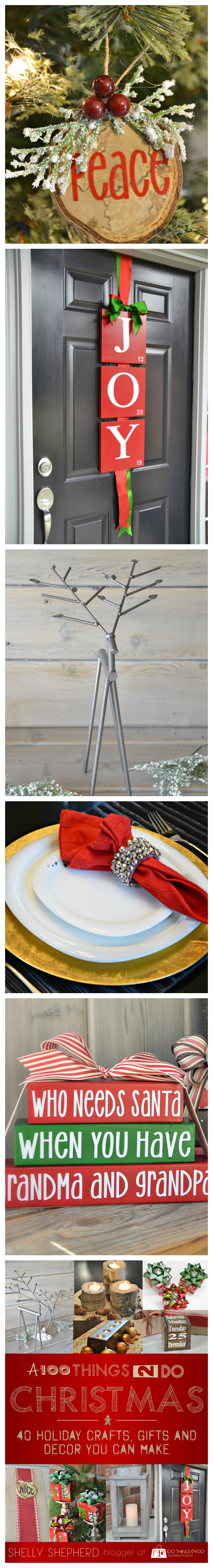 40+ Christmas crafts, gifts and decor you can make!
