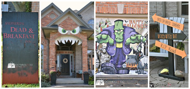 Hallowe'en Decorating ideas for outdoors