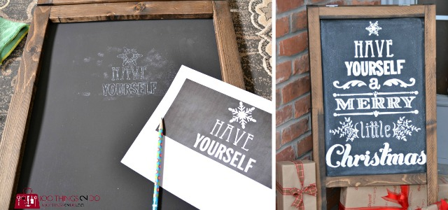 How to create your own professional-looking chalkboard art - when you don't have any talent whatsoever.