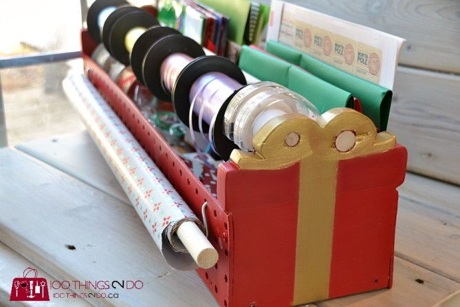 Gift wrap caddy 11