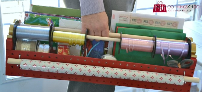 Gift wrap caddy 9
