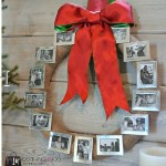 Christmas crafts - Create your own photo wreath