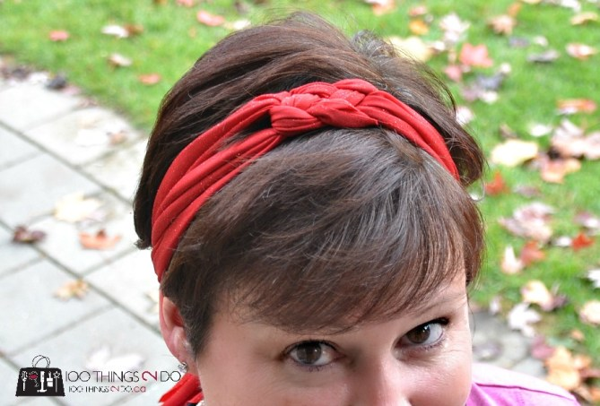 Sailor knot hairband - 19