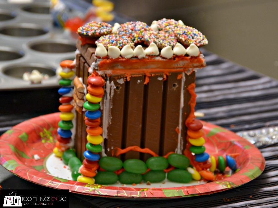 Chocolate Bar (gingerbread) House