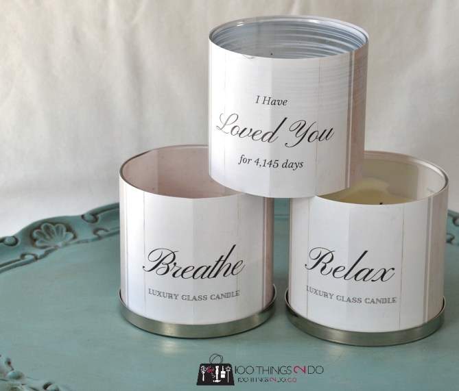 Candle wraps - 5
