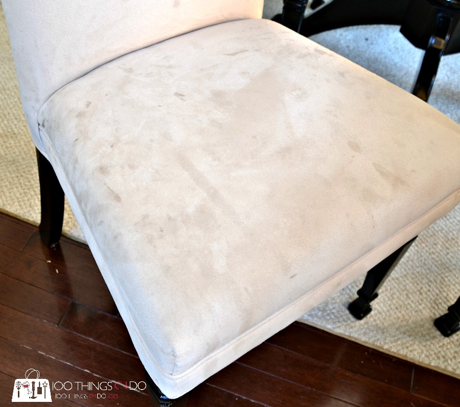 How to clean fabric & microsuede