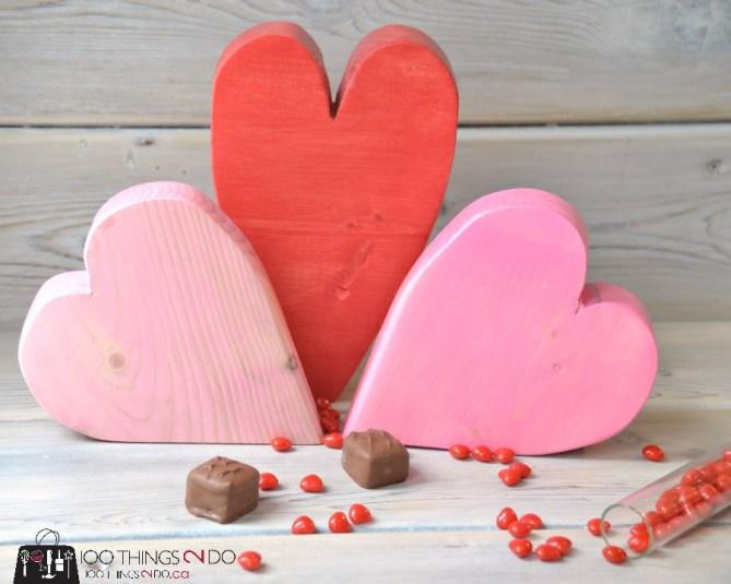 Scrap Wood Hearts - 7