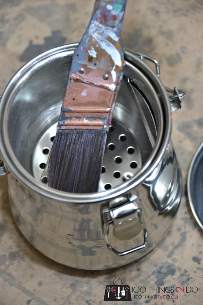 Storing paint thinner / varsol