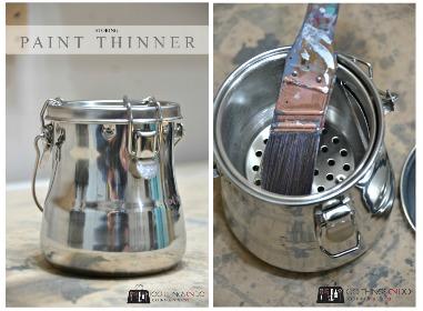 Storing paint thinner