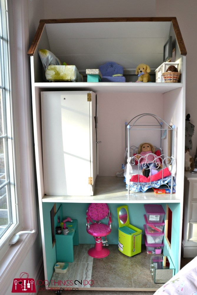 DIY American Girl Dollhouse