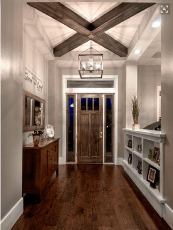 Styling your entryway - architectural details