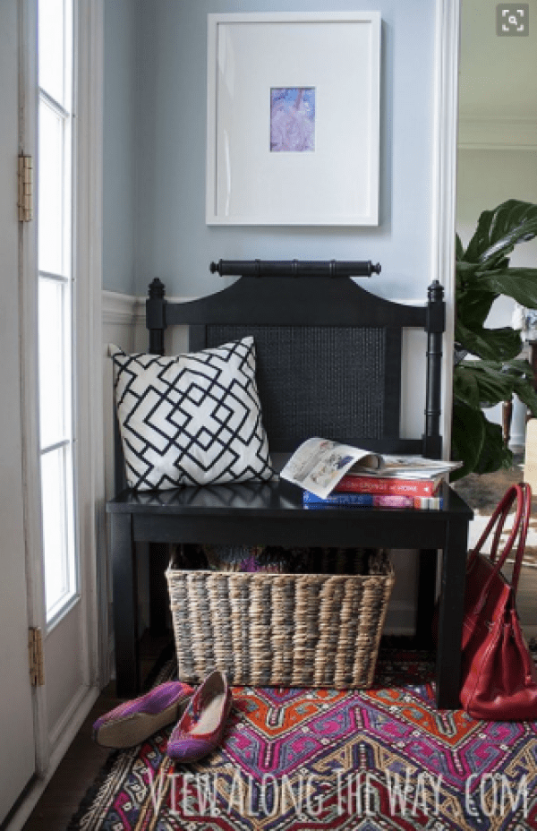 Styling you entryway - small space