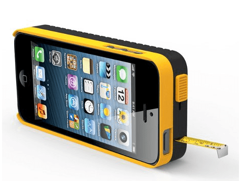 iPhone case with tape measure - gadgets I need