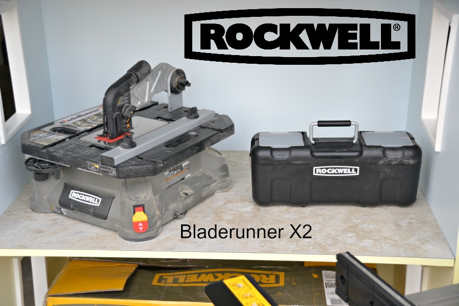 The ultimate DIY tool - cuts, scrolls, rips through wood, tile, pvc. Bladerunner X2