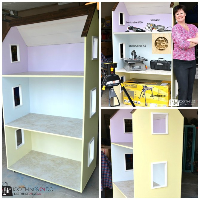 American Girl Dollhouse using Rockwell tools