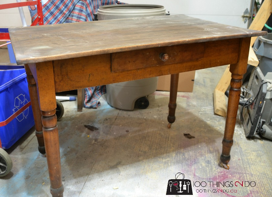 furniture makeover antique farmhouse table - Antique Farmhouse Kitchen Tables